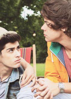 Zayn & Harry