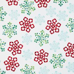 The Container Store > Snowflakes Gift Wrap