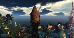 Fantasy Faire 2011 - Fantastical and Big Ben, Sims, Fantasy, Explore, Landscape, Building, Travel, Viajes, Mantle