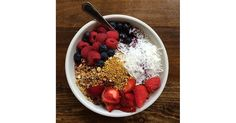 Boost weight loss by topping your bowl with antioxidant- and fiber-rich berries.