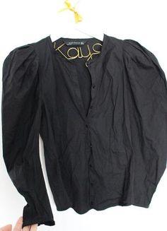 ZARA przepiękna czarna koszula bufki S M Asos, Pajama Pants, Pajamas, Zara, Nike, Fashion, Sleep Pants, Moda, Fashion Styles