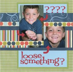 Loose something?...lost tooth-2 Photos