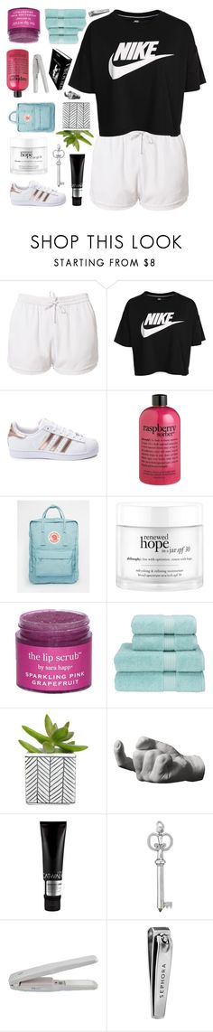 """""""BUT MY DREADS TOO THICK."""" by samiikins ❤ liked on Polyvore featuring Estradeur, NIKE, adidas, philosophy, Fjällräven, Sara Happ, Christy, Assouline Publishing, Harry Allen and TIGI"""