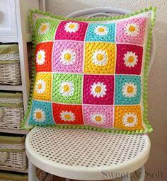 La Magia del Crochet: COJINES
