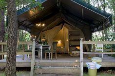 Fancy wall tent