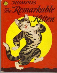 Rumpus the Remarkable Kitten by Charles E. Bracker,1953