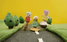 Mochimochiland animation street cookie pie