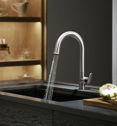 Kohler's Sensate Touchless #kitchen #faucet.