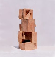 an after image object(zanzobutsu) / ryosuke yazaki 1998 terracotta tonoko w.210mmxd.360mmxh.123mm
