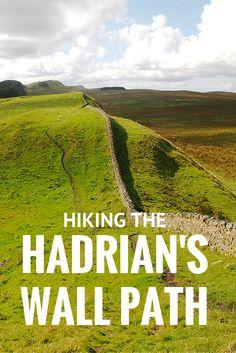 THIS would be a great place for a walk eh? Dm. Hiking the Hadrians Wall Path, England.