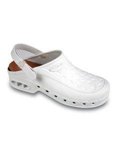 Scholl NEW WORK TIME s páskem -  bílé pracovní sandále