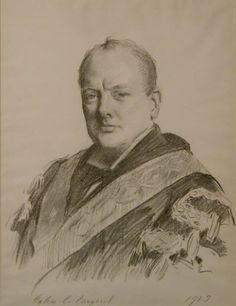 Winston Churchill by John Singer Sargent