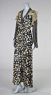 Vintage Ossie Clark / Celia Birtwell Daisy Dress 1970s