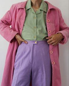 Basic Fashion Tips .Basic Fashion Tips Mode Outfits, Office Outfits, Fashion Outfits, Skirt Outfits, Fashion Tips, Mode Style, Style Me, Funky Style, Ropa Color Pastel