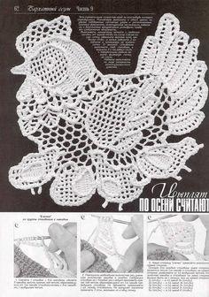 Photo from album Дуплет 175 on Crochet Paisley, Crochet Butterfly, Crochet Art, Thread Crochet, Filet Crochet, Irish Crochet, Crochet Flowers, Crochet Tablecloth, Crochet Doilies