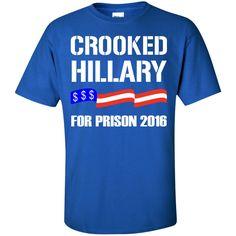 Hillary Custom Ultra Cotton T-Shirt