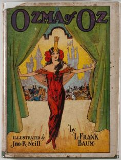 ozma of oz by l frank baum, 1907