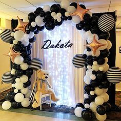 67 Awesome Balloon Decor Ideas For Your Celebration - Page 43 of 67 - Veguci : Balloon Decorations Balloon Decor Wedding Balloon Balloon Ideas Balloon Arch Baby Shower Decorations For Boys, Birthday Party Decorations, Wedding Decorations, Birthday Parties, Decor Wedding, Balloon Decorations Party, Shower Party, Baby Shower Parties, Baby Boy Shower