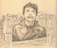 TEENAGERS. Amazing drawing.