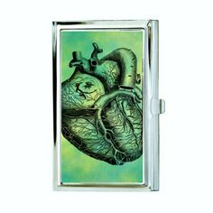This Anatomical Heart Business Card Case is a great way to promote your business and show some personality at the same time! It can fit easily in your purse or pocket. The images are created using a s