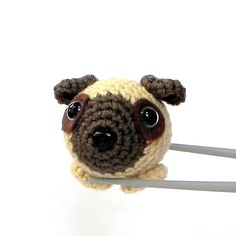 Amigurumi - Little pug crochet