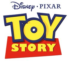 The Toy Story logo uses primary colors and a simple and fun font choice to appeal to children and give off a very child like tone. Works very well for the movies and does this job slightly better than Pokemon which tries to do the same thing but fails given the tone and target market of the games.