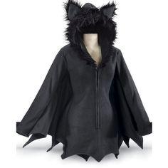 Bat Jacket ❤ liked on Polyvore