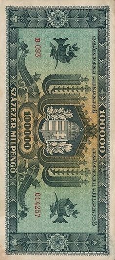 Hungary banknote Mclaren Mp4, Hungary, Bohemian Rug, Coins, Retro, Money, Golden Roses, Coining, Rustic