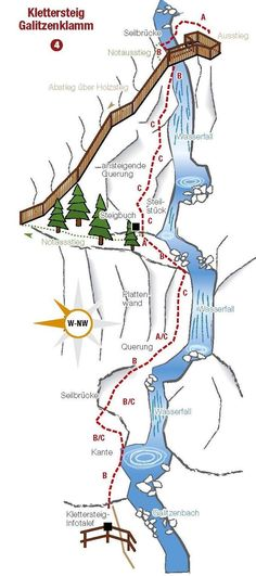 Klettersteig Gailitzenklamm #klettern #hike Life Is A Journey, Mountaineering, Germany Travel, Hiking Trails, Outdoor Travel, Climbing, Wanderlust, Tours, Traveling