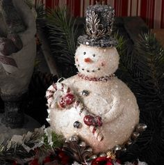 Frosted Snowman - Holiday Room Decor - Events