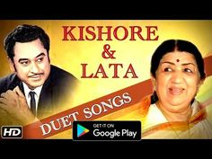 Kishore Kumar and Lata Mangeshkar have plenty of world best romantic songs from their yesteryear collection of Bollywood Music. Bollywood Classic brings you . Old Hindi Movie Songs, Indian Movie Songs, Love Songs Hindi, Song Hindi, Old Bollywood Songs, Bollywood Saree, Bollywood Fashion, 90s Hit Songs, Old Song Download
