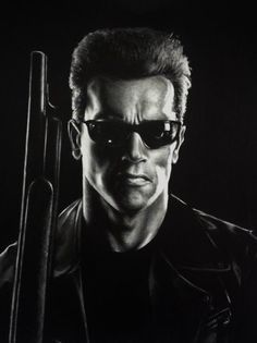 T-800 Terminator by Sparkypoo