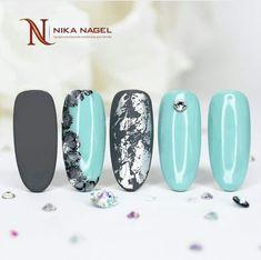 No photo description available. Gorgeous Nails, Pretty Nails, Sassy Nails, Nail Time, Manicure Y Pedicure, Dream Nails, Nagel Gel, Flower Nails, Creative Nails