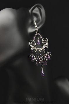 Amethyst+swirl+earrings+by+IMNIUM.deviantart.com