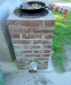 outdoor cooking...make your own rocket stove