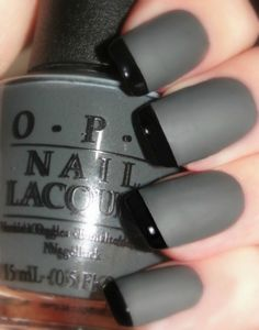 OPI Manicure Lot of 3 Full Size Bottles to create a stunning Smoke & Ash Reverse matte Tuxedo Manicure    Included in this lot:    OPI Nein! Nein! Nein! OK Fine!    OPI Black Onyx    OPI Matte Top Coat    Put them together to create the Smoke & Ash Manicure or wear them separately    Excellent fo...