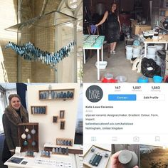 regram @katieloweceramics day twenty four of #marchmeetthemaker and it's 'milestone'  I feel like I have achieved so much the past few years I can't just pick one milestone! My first was definitely my installation at degree show I wanted to aim big and do something that pushed the boundaries of ceramics and to of pulled that off I was so proud of myself! Leaving university in the dark as to what I was going to do to then set up a little workshop in my dads garage get a kiln work for…