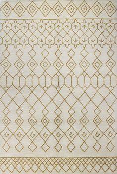 Ashland Ivory & Gold Area Rug
