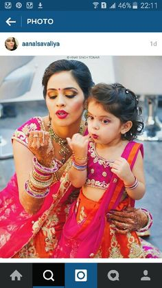 Adorable !!  #indianwedding #makeup
