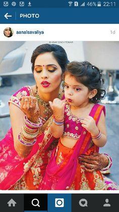 Adorable !! #indianwedding #makeup
