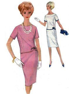 1960s Vintage Sewing Pattern Simplicity by allthepreciousthings, $14.00