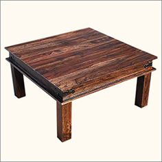 12 Best Rustic Square Coffee Table Images Rustic Square Coffee