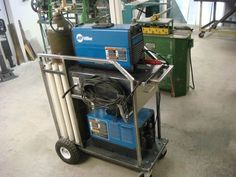 My new tig welding cart - Miller Welding Discussion Forums More