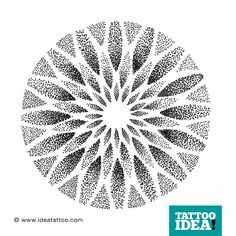 Resultado de imagen para dotwork mandalas Dot Tattoos, Dot Work Tattoo, Flower Tattoos, Body Art Tattoos, Mandala Dots, Flower Mandala, Mandala Design, Geometric Pattern Design, Geometric Circle