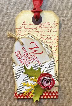 Petite Fleur Paperie I love this tag!