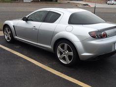 Mazda rx8 2004....it's so pretty but I prefer black
