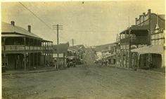 Bangalow Main St, Circa 1918