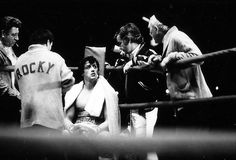 Dessertpin - Behind the Scenes Photos from Rocky Rocky Series, Rocky Film, Bruce Willis, Chuck Norris, Arnold Schwarzenegger, Keanu Reeves, Sylvester Stallone Quotes, Rocky Stallone, Rocky 1976