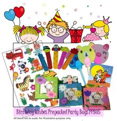 If you're racking your brains on what to bundle into your child's party goodie bag, here are some creative goodie bag ideas to consider!  #goodiebag #birthdayparty
