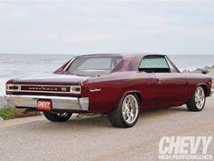 1966 Chevrolet Chevelle Rear Side